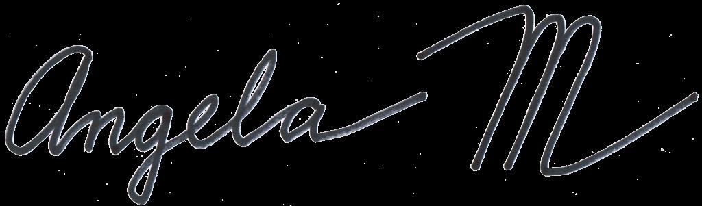 Angela Mole signature